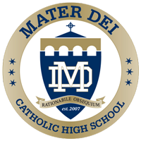 Mater Dei Catholic High School Online Store Logo